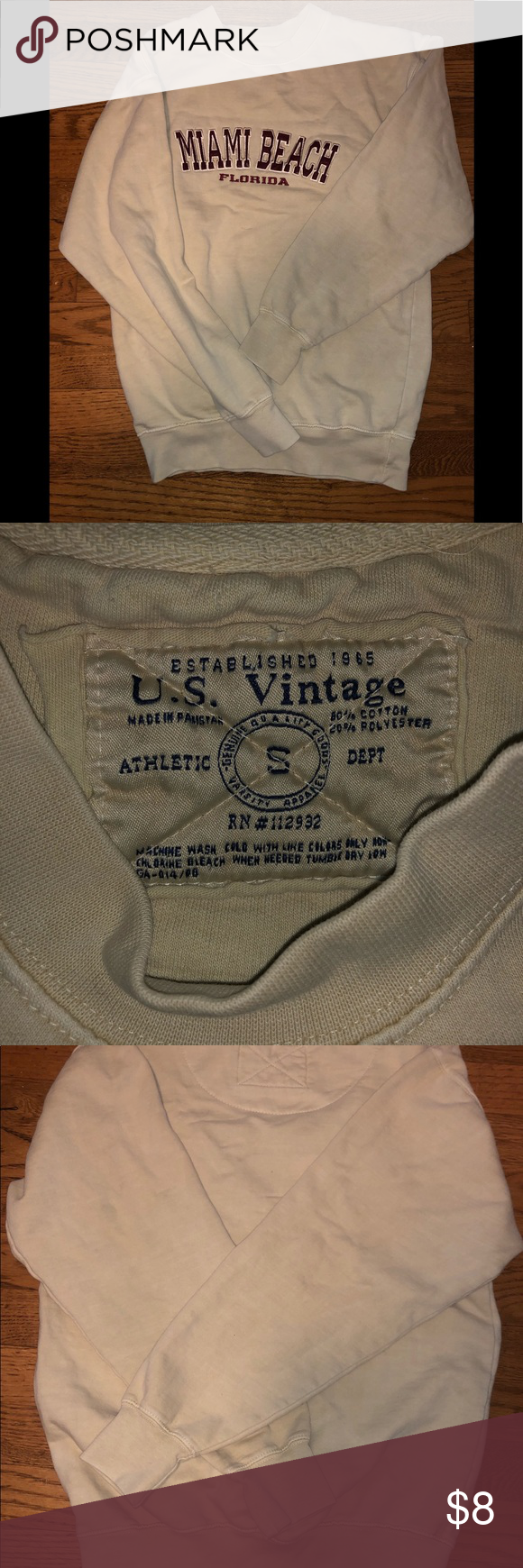 Us Vintage Sweatshirt Vintage Sweatshirt Vintage Florida Vintage
