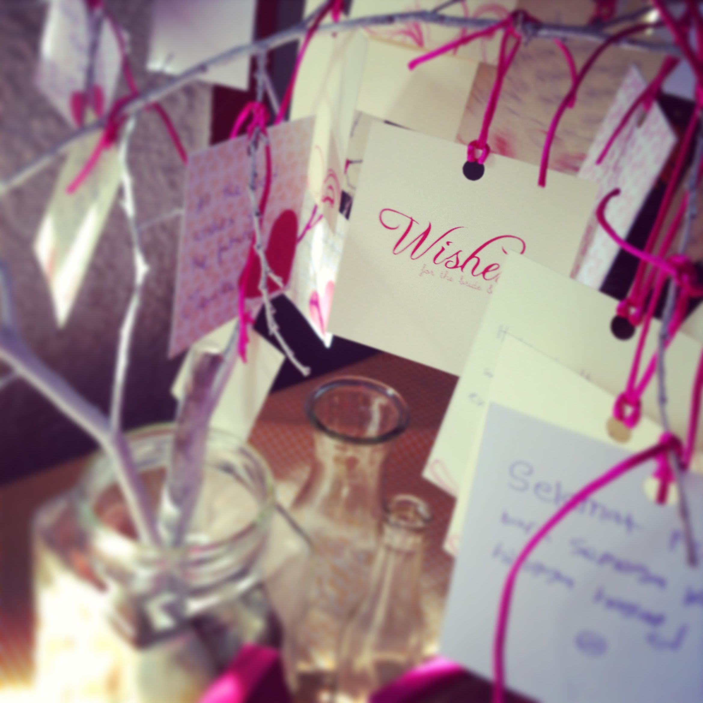 Wishes for the bride & groom