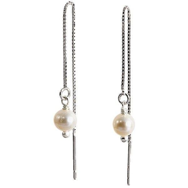Delicate Drop Earrings Made for Freedom via Polyvore featuring jewelry, earrings, drop earrings and earring jewelry