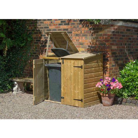 cache poubelles bois volten poubelles pinterest cacher les poubelles poubelle et cache. Black Bedroom Furniture Sets. Home Design Ideas