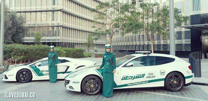 Female Police Lamborghini And Ferrari In Dubai With Images
