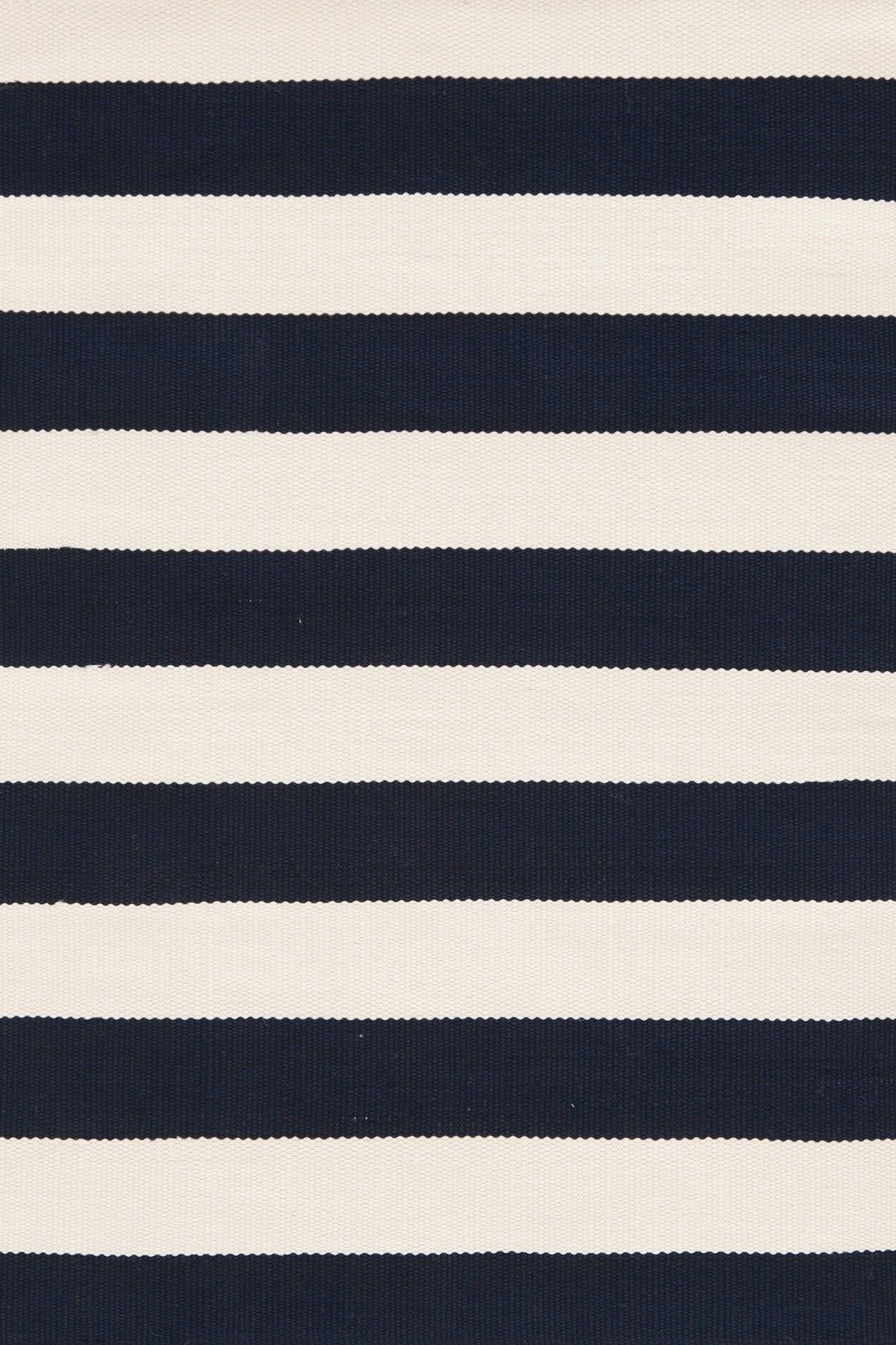 Navy White Striped Rug Dash And Albert Rugs Catamaran Indoor Outdoor