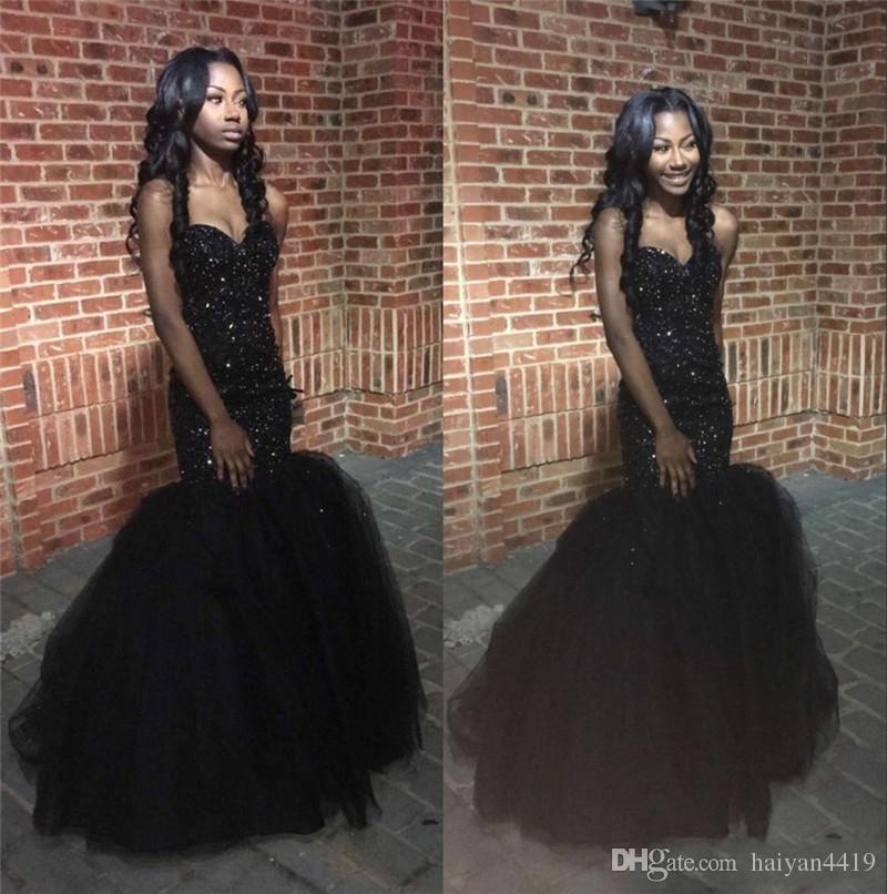 Long formal dresses for juniors black