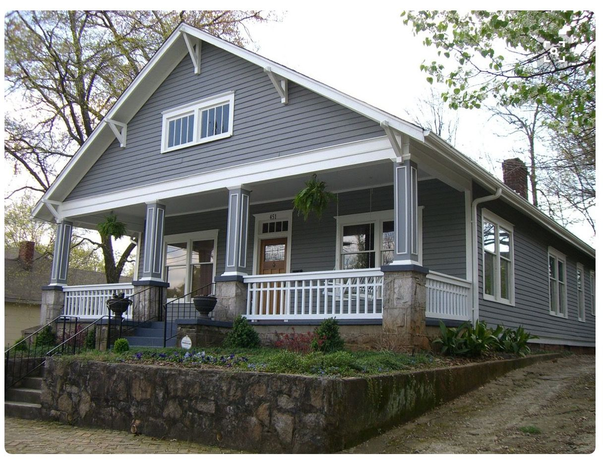 Belly Band Craftsman Bungalow Exterior Bungalow Exterior Cottage Homes