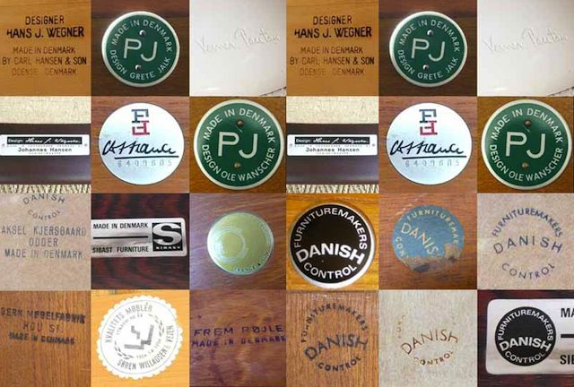 Quality Over Quantity A Brief History Of The Danish Furnituremakers Quality Control Stamp Antique Chair Styles Stamp Makers Mark