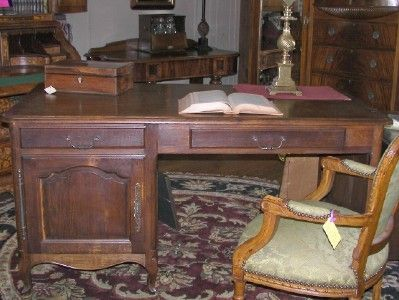 Antique French Desk at Village Antique Gallerie, in downtown Pierceton, Indiana, SOLD!
