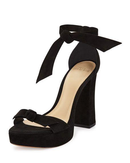best deals Alexandre Birman Suede Bicolor Sandals outlet amazon Y7PdhIS