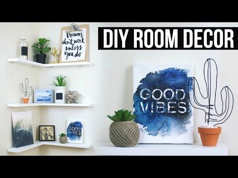Diy Floating Shelves Room Decor Pinterest Inspired