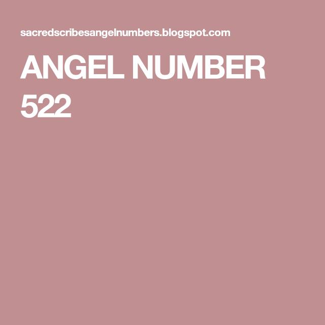522 numerology