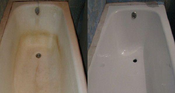comment nettoyer les taches sombres et la rouille sur votre baignoire maison pinterest. Black Bedroom Furniture Sets. Home Design Ideas