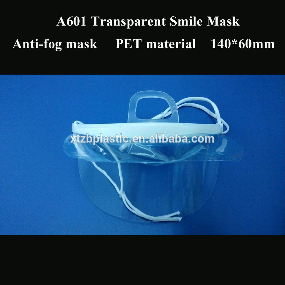 Plastic anti-fog mouth cover transparent face mask for food ...