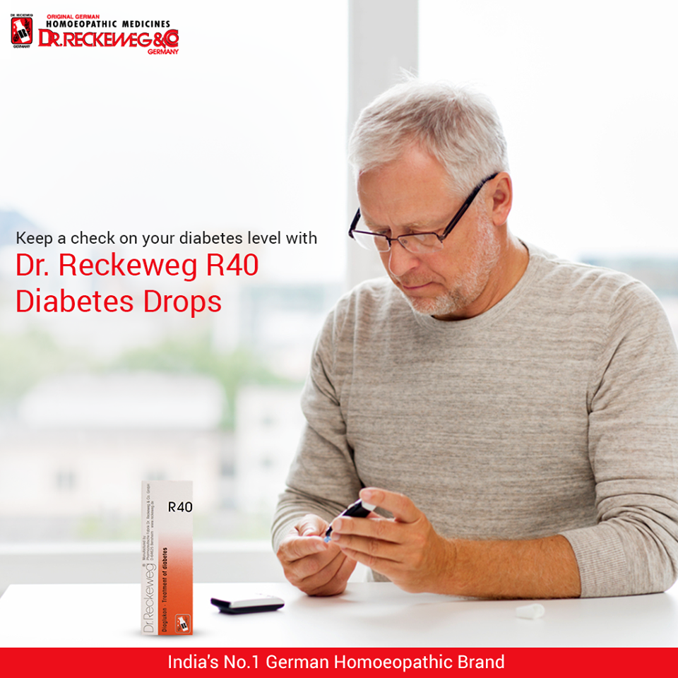 Dr Reckeweg R40 Diabetes Drops, Buy online and get upto 15% off