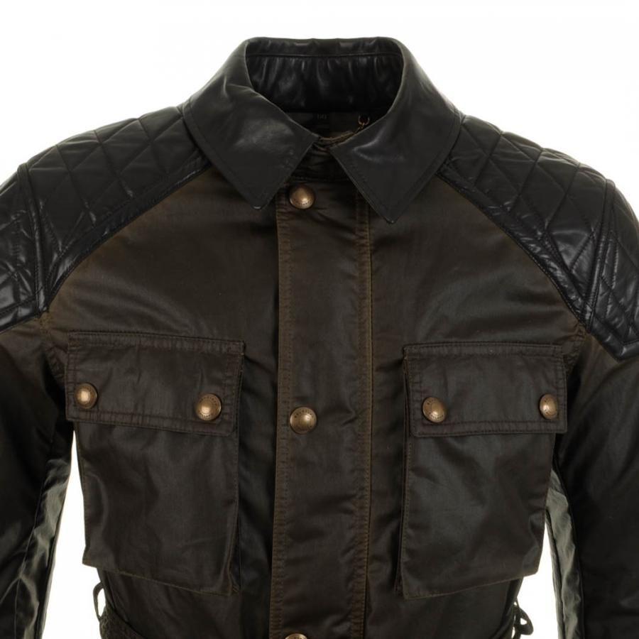 Belstaff > Belstaff Trophymaster Jacket Faded Olive > Belstaff Jackets  Coats Belstaff Jacket Designer Clothes @