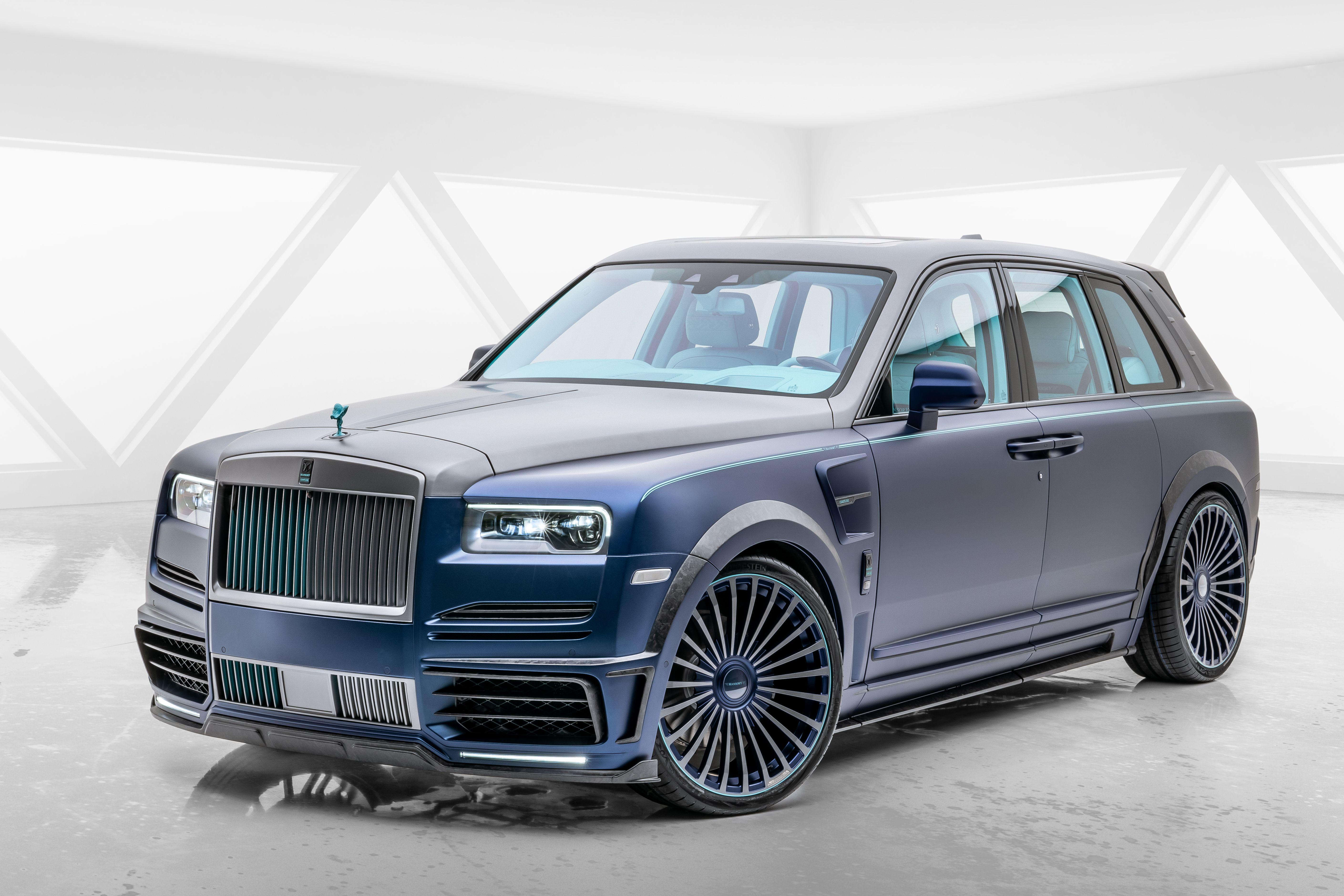 2020 Rolls Royce Cullinan Coastline By Mansory In 2020 Rolls