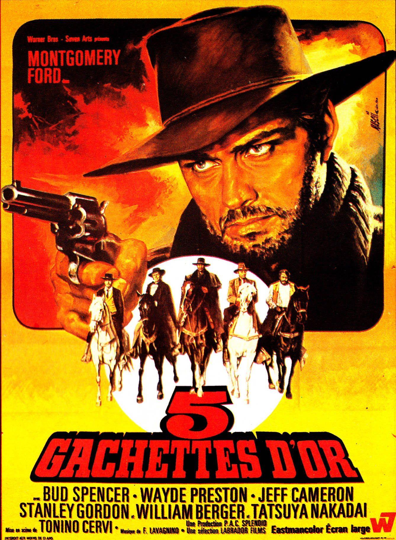 5 Gachettes D Or Film Complet En Version Francais Affiche Cinema Films Complets Films Western