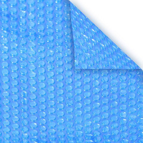 Robelle 18S-8 BOX Heavy-Duty Solar Cover for 18-Feet Round Swimming Pool, Blue