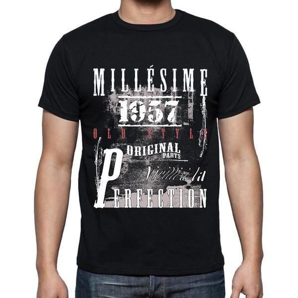 #millésime #cadeau #tshirt #homme Souhaitez-vous ou quelqu'un un joyeux anniversaire avec un t-shirt parfait! --> https://www.teeshirtee.com/collections/fr-vintage-black-mens/products/1957-birthday-gifts-for-him-birthday-t-shirts-mens-short-sleeve-rounded-neck-t-shirt