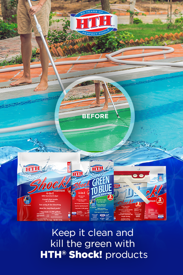 how to keep pool water clean and clear