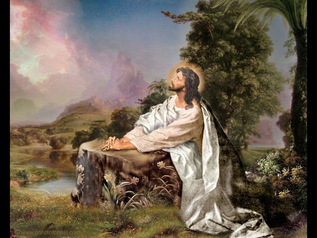 Image result for jesus prayer in the garden pictures