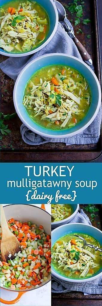 Turkey Mulligatawny Soup #mulligatawnysoup This fantastic dairy free Mulligatawny soup is a great way to use up leftover turkey or chicken. 238 calories and 2 Weight Watchers SP #leftoversrecipes #turkeyrecipes #weightwatchers #grainfree #mulligatawnysoup Turkey Mulligatawny Soup #mulligatawnysoup This fantastic dairy free Mulligatawny soup is a great way to use up leftover turkey or chicken. 238 calories and 2 Weight Watchers SP #leftoversrecipes #turkeyrecipes #weightwatchers #grainfree #mulli #mulligatawnysoup