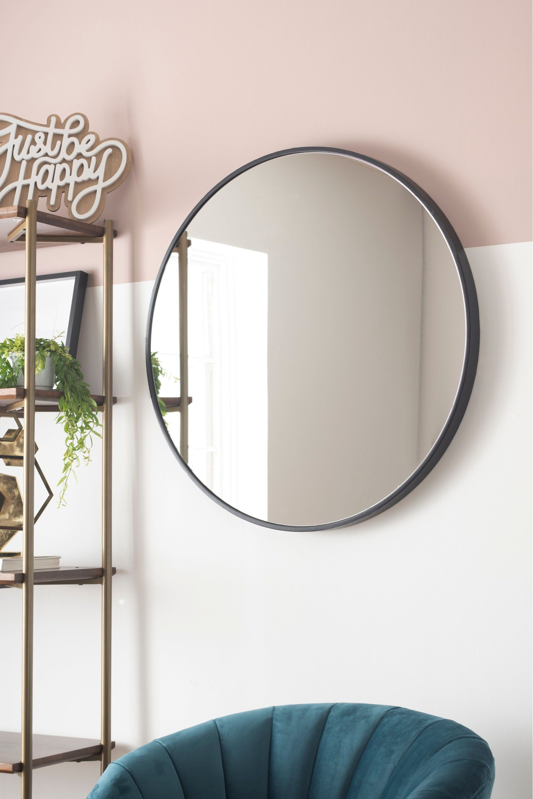 Buy Large Round Mirror From The Next Uk Online Shop In 2020 Large Round Mirror Round Mirrors Black Round Mirror