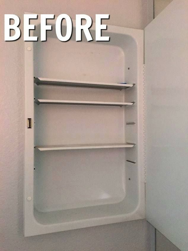 Best Medicine Cabinet Makeover For Less Than 2 Cabinet 400 x 300