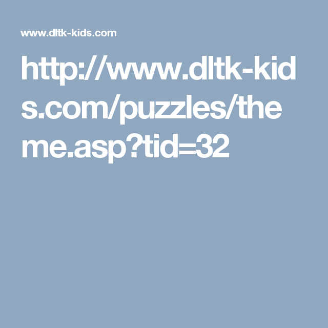 http://www.dltk-kids.com/puzzles/theme.asp?tid=32   From head to ...