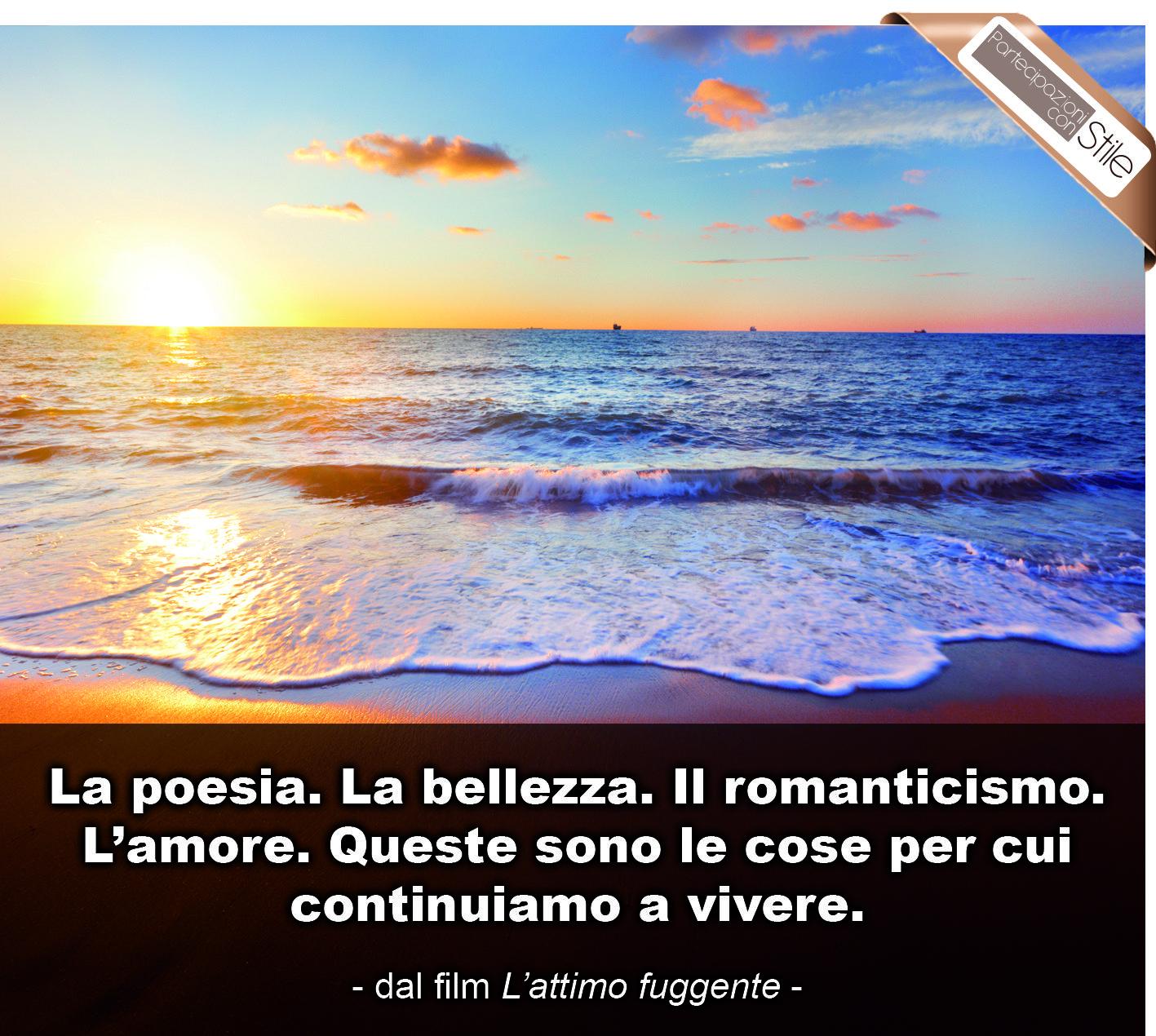 la poesia la bellezza il r ticismo l amore queste sono le la bellezza il r ticismo l amore queste sono