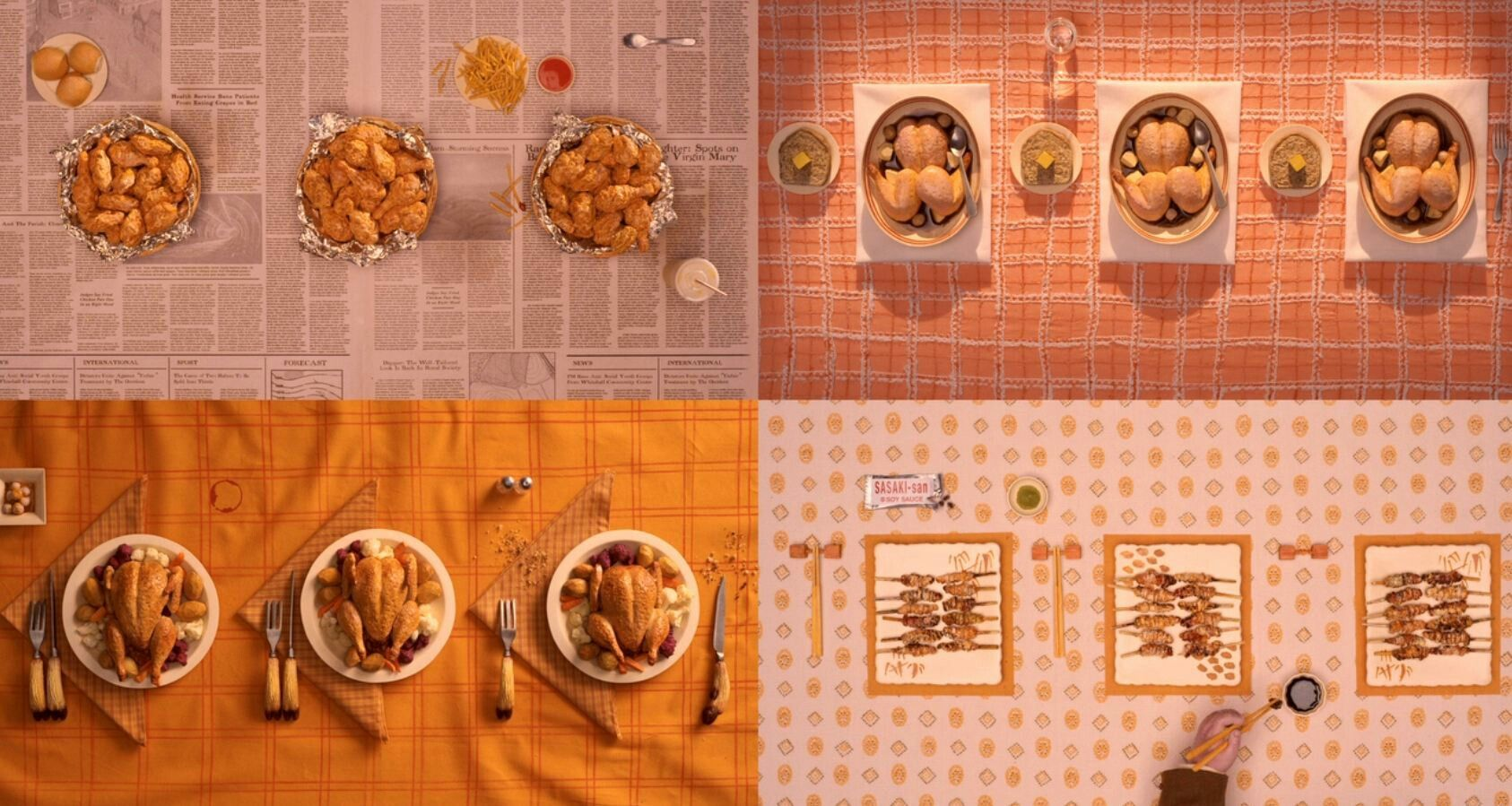 Wes Food Fantastic Mr Fox Wes Anderson Movies Wes Anderson Aesthetic