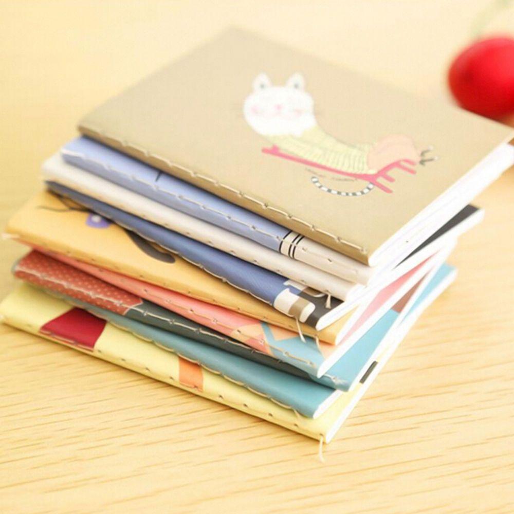 Taschenkalender Planer Notizblock-Notizbuch schreibt Papier Handy-Memo Journalwr