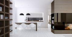 Modern Dining Rooms for Inspiration  | www.bocadolobo.com #bocadolobo #luxuryfurniture #exclusivedesign #interiodesign #designideas  #diningtable #luxuryfurniture #diningroom #interiordesign #table #moderndiningtable #diningtableideas