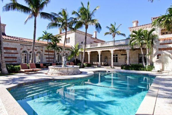 Traumhaus mit pool und garten  pooldesign-garten-luxus-haus-innenhof | Luxus Häuser | Pinterest ...