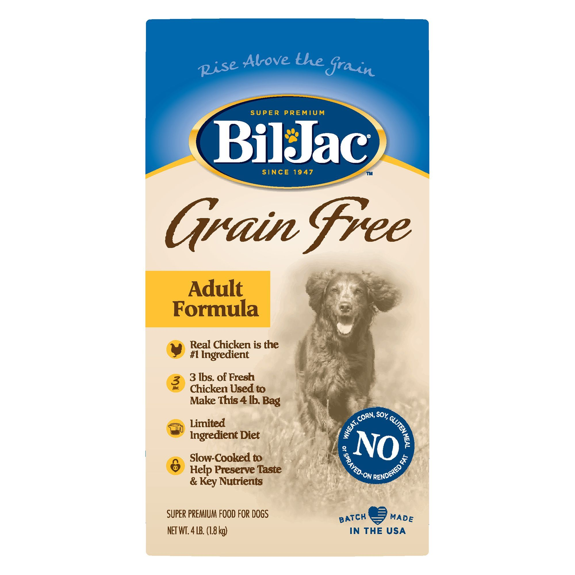BilJac® Grain Free Adult Dog Food Chicken Dog food