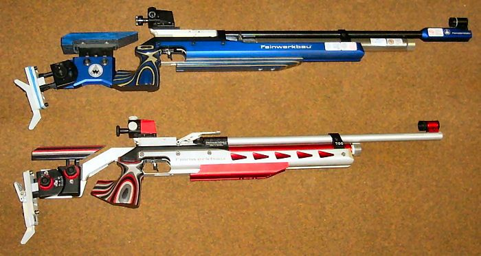 Comparison between Feinwerkbau P70 ALU and 700 ALU Junior   AIR GUN
