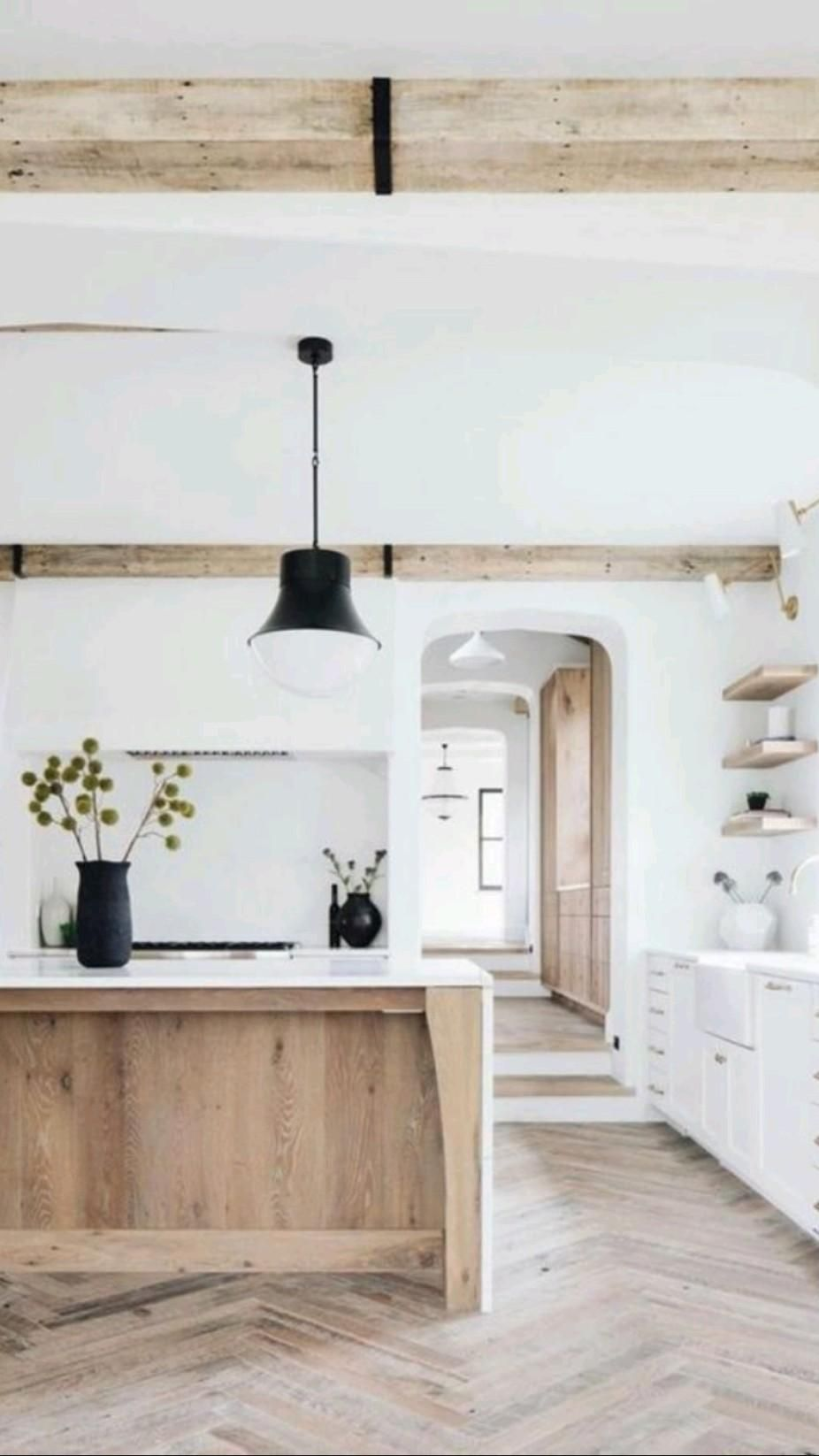 Not Your Mother's Natural Wood Kitchen