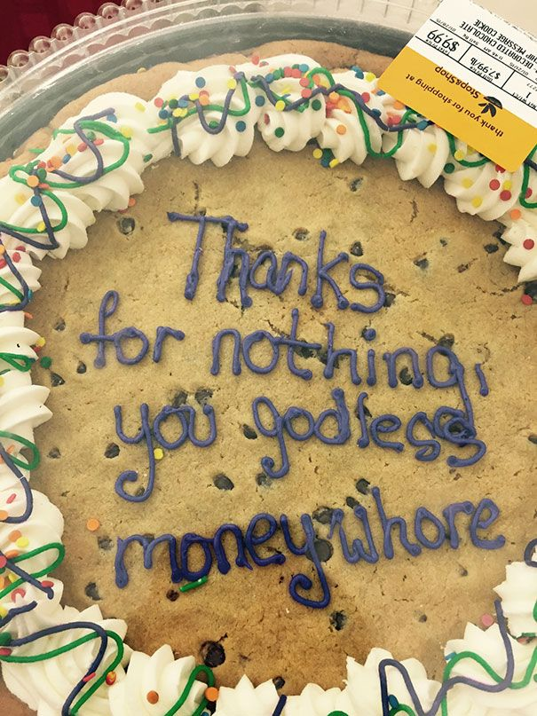 Farewell Cake Sayings : farewell, sayings, Hilarious, Farewell, Cakes, Employees, Their, Office, Cake,, Goodbye, Funny