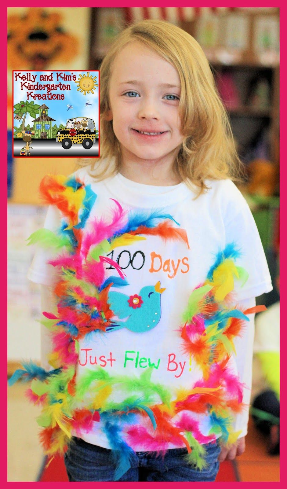 A blog sharing fun and exciting learning activities and ideas to teachers of grades PreK to 2. #100daysofschoolshirt
