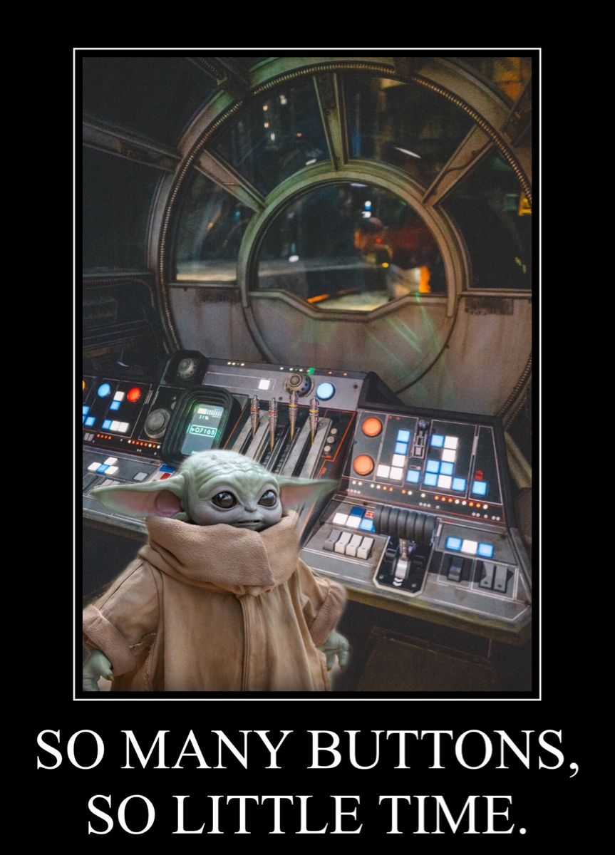 Pin by Ana Lopez on Baby Yoda in 2020 Star wars memes