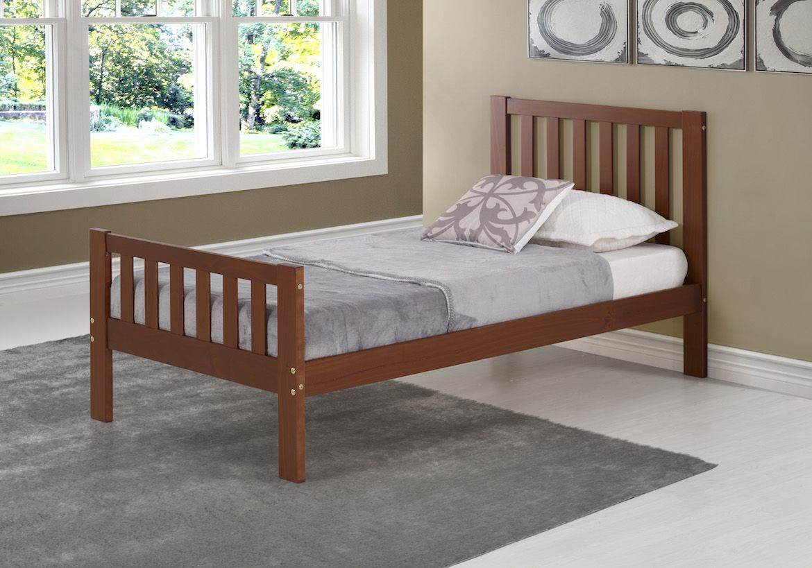 The Aurora Twin Bed comes complete with headboard
