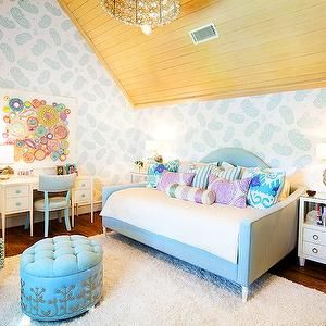 Tracy Hardenburg Designs Girl S Rooms Vaulted Ceiling Girls Room Vaulted Ceiling Girls Bedroom Vaulted Ceiling Girls Kids Bedroom Girl Room Room Colors