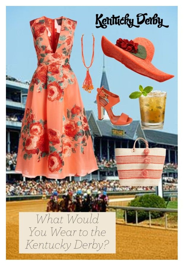 """""""Derby Day"""" by tameragwallenstrong ❤ liked on Polyvore featuring Lela Rose, Banjanan, Gucci and Mar y Sol"""