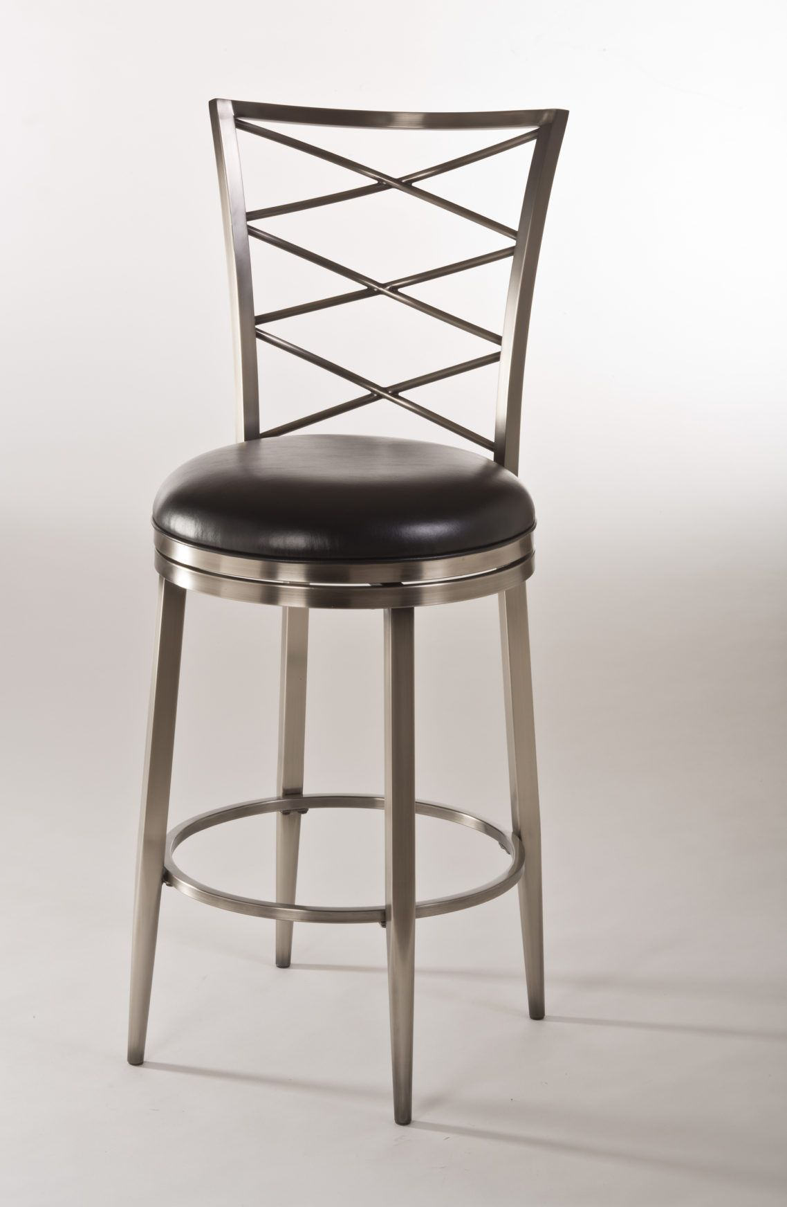 agreeable furniture iron bar stool design with stainless steel bar