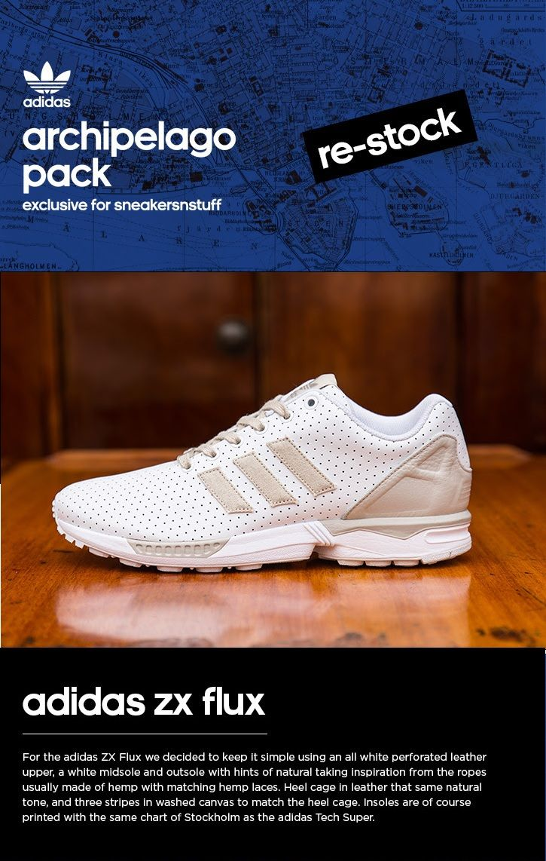 hot sale online 2b5f1 fc5f3 adidas ZX Flux Archipelago