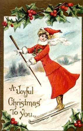 142892 Vintage Christmas Cards Vintage Christmas Vintage Holiday Cards