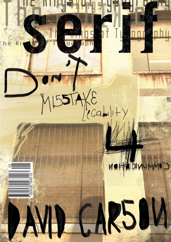 Photo of David Carson – Publication Design