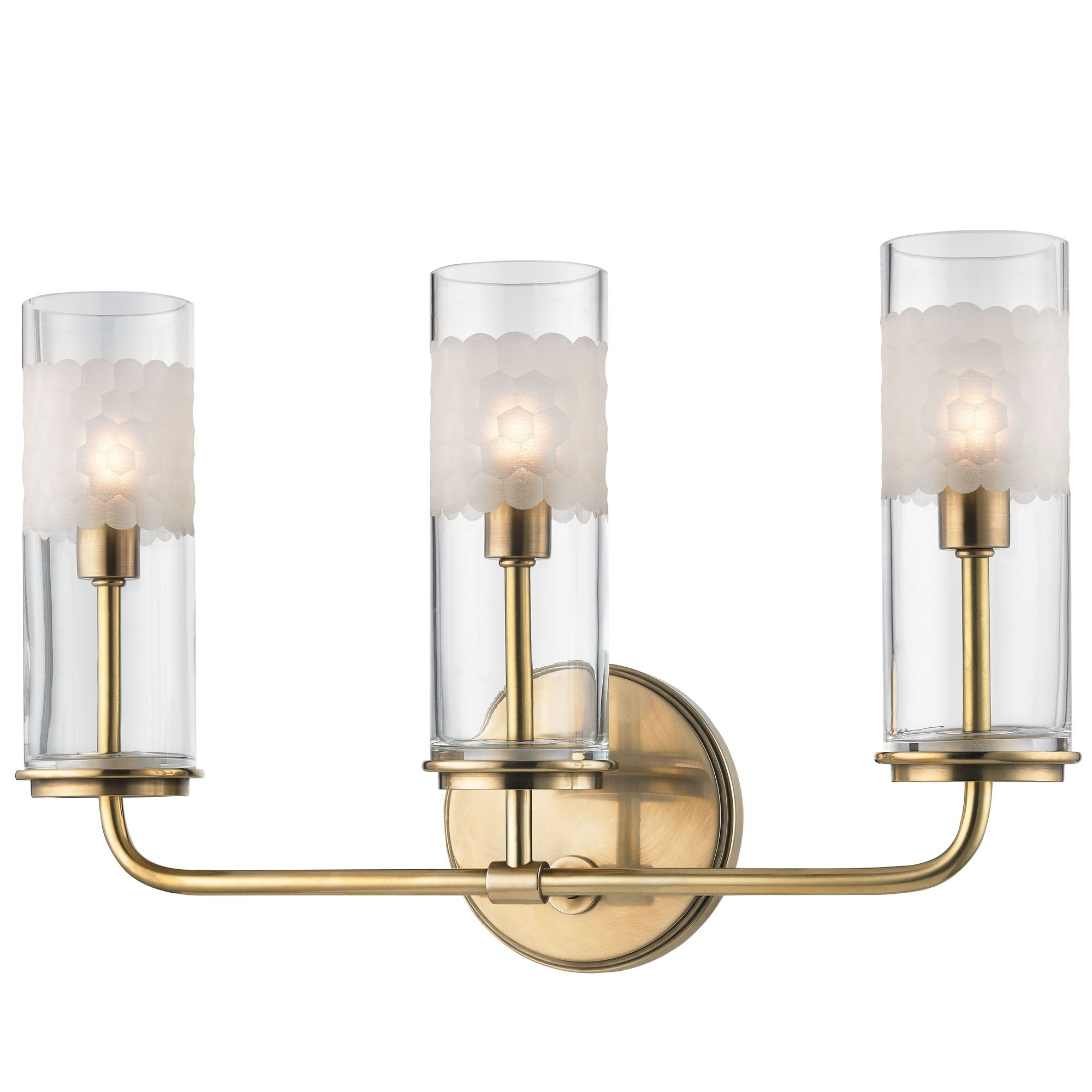 Photo of Wentworth Wall Light by Hudson Valley Lighting | 3903-AGB