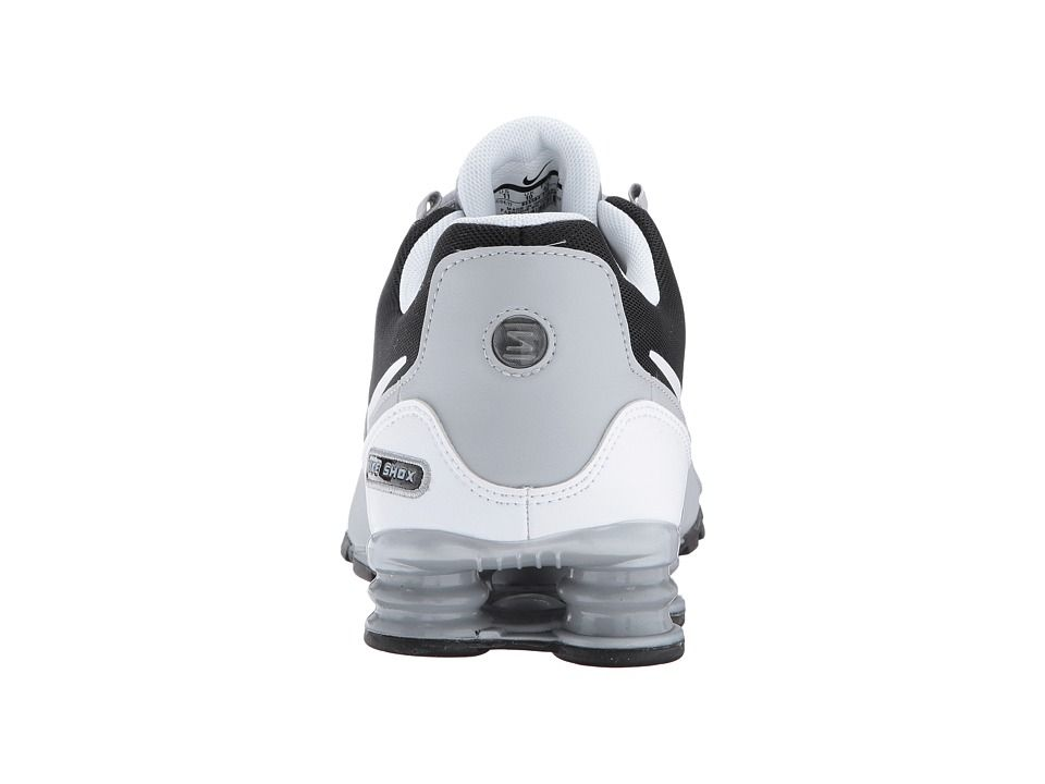 check out 59b6a a3791 Nike Shox Avenue Leather Men s Running Shoes Wolf Grey White Anthracite