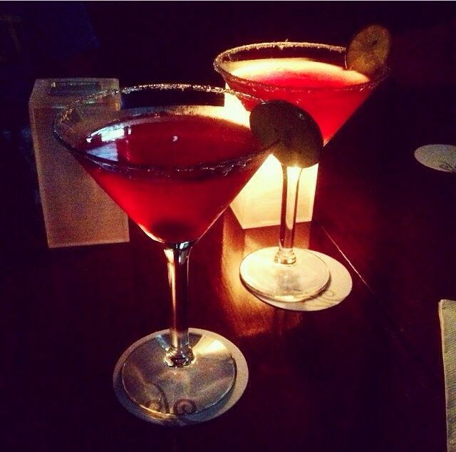 pomegrenate martini #Hardrockhotel #TravelBright