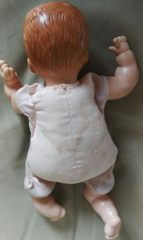 1965 Vogue Dream Baby Doll 12 Molded Hair Vinyl With Dream Baby Cute Baby Dolls Baby Dolls