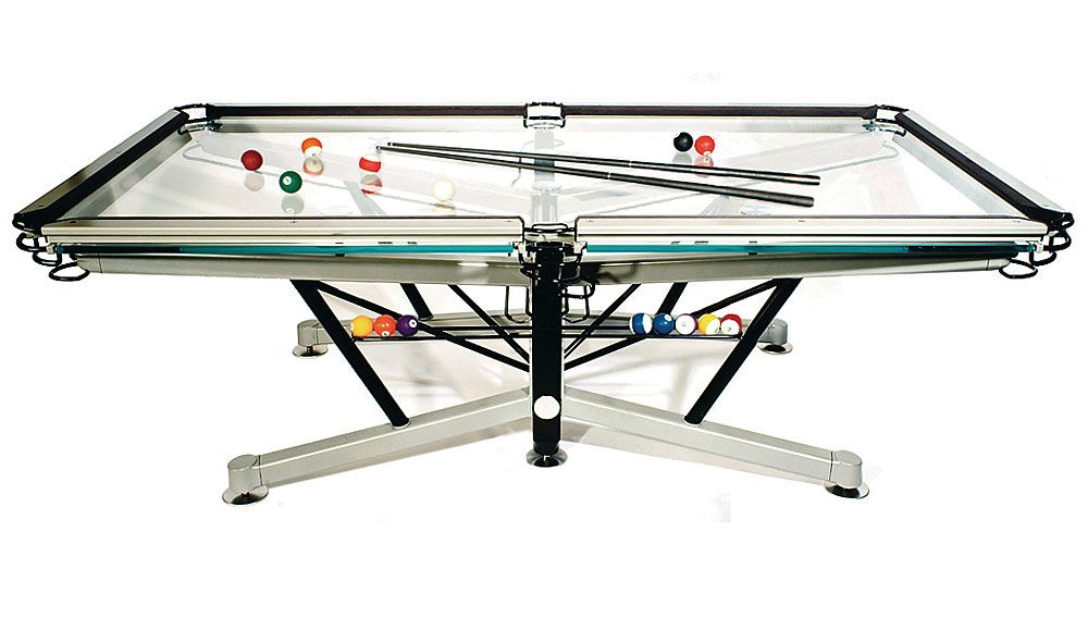 When billiard tables were first introduced, during the